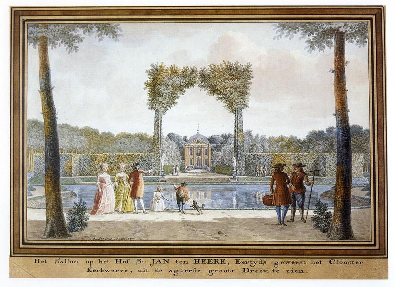 Aagtekerke Heere - achterzijde - tekening Jan Arends 1777 - HET01