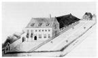 Aagtekerke Heere - het oude huis - tekening naar ouder origineel - JAN01