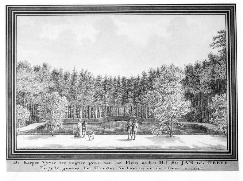Aagtekerke Heere - vijver - tekening Jan Arends 1777 - HET01