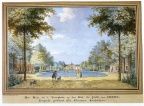 Aagtekerke Heere - voorplein 2 - tekening Jan Arends 1775 - HET01