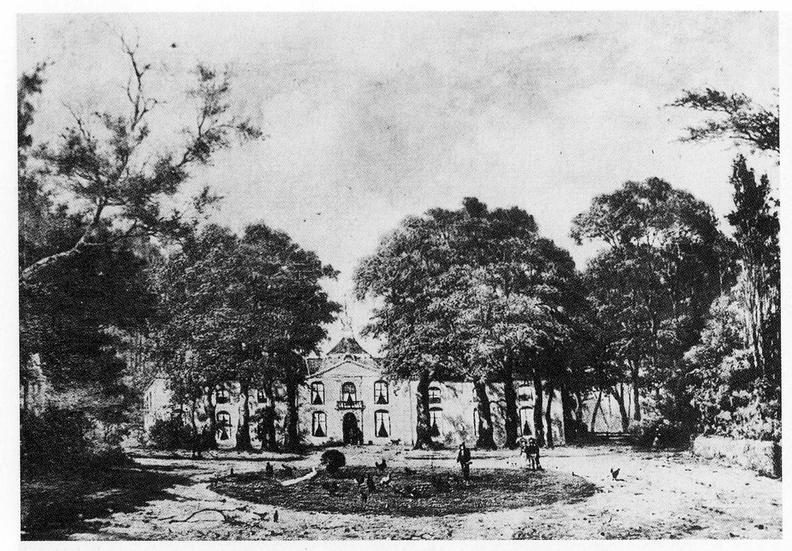 Aagtekerke Heere- schilderij H van de Sande Bakhuyzen, 1860 - HET01