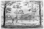 Aagtekerke Heere- tuin - tekening JH Reygers, 1809 - JAN01