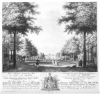 Aagtekerke Heere- voorplein - tekening J Arends, 1775 - HET01