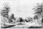 Aagtekerke Heere- voorplein - tekening JH Reygers, 1809 - JAN01