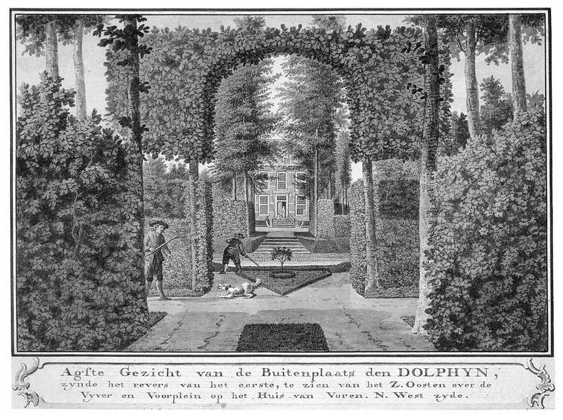 Middelburg Dolphyn - 8e gezicht - tekening Jan Arends 1774 - HET01