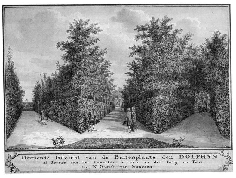 Middelburg Dolphyn - 13e gezicht - tekening Jan Arends 1775 - HET01