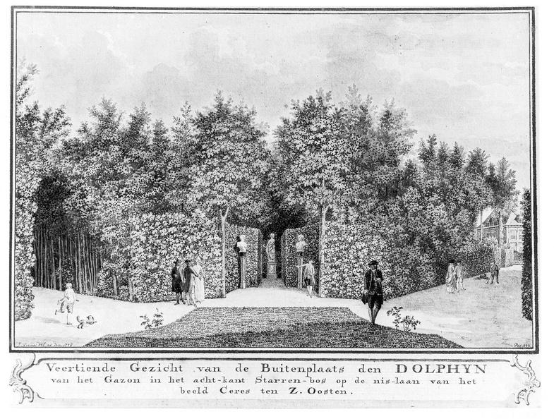 Middelburg Dolphyn - 14e gezicht - tekening Jan Arends 1775 - HET01