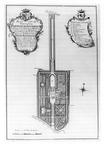 Middelburg Popenroede - plan - tekening door JJ de Freytag, 1772 - JAN01