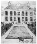 Middelburg Poppenroede - tekening begin 19e eeuw - JAN01