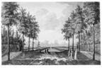 Middelburg Poppenroede Ambacht - kanaal - tekening Jan Arends 1771 - HET01