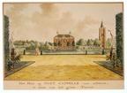 Oostkapelle - achterzijde - tekening Jan Arends 1772 - HET01