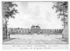 Oostkapelle - voorzijde - tekening Jan Arends 1772 - HET01