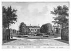 Oostkapelle Middenhof - achterzijde - tekening Jan Arends 1772 - HET01