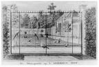 Oostkapelle Middenhof - Manageries - tekening Jan Arends 1772 - HET01
