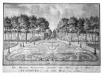 Oostkapelle Rijnsburg - bloemen parterre - tekening Jan Arends 1772 - HET01