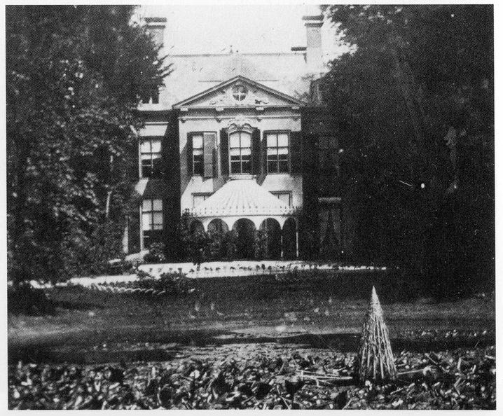 Oostkapelle Rijnsburg - foto voor de sloop in 1866 - HET01