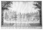 Oostkapelle Rijnsburg - nieuwe vijver - tekening Jan Arends 1772 - HET01