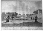 Oostkapelle Rijnsburg - vijver - tekening Jan Arends 1772 - HET01