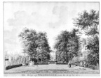 Serooskerke Noordhout - voorzijde - tekening Jan Arends 1788 - HET01