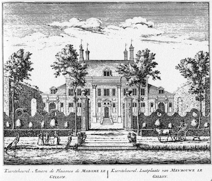Abcoude-Kievitsheuvel - ets Abraham Rademaker, 1730 - HOL1