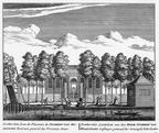 Baambrugge-Donkervliet - ets Abraham Rademaker, 1730 - HOL1