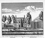 Baambrugge-Langverswegen - ets Abraham Rademaker, 1730 - HOL1