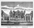 Baambrugge-Meerleveld - ets Abraham Rademaker, 1730 - HOL1