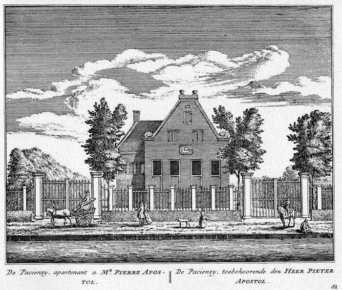 Baambrugge-Patientie - ets Abraham Rademaker, 1730 - HOL1