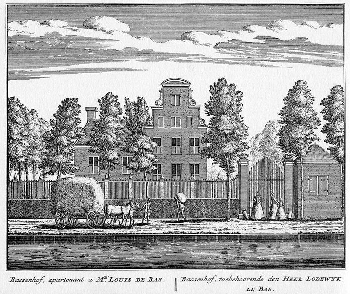 Baambrugge-Bassenhof - ets Abraham Rademaker, 1730 - HOL1