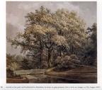 Breukelen Vreedenoord - park - tekening PJ Lutgers, 1870 - GE4