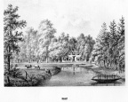Bunnik Nienhof - litho PJ Lutgers, 1869 - GEZ2