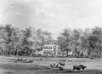 Bunnik Oostbroek - aquarel door Lutgers 1842 - UT1