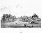 Bunnik Oostbroek - litho van PJ Lutgers, 1869 - GEZ2