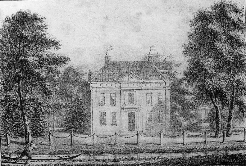 DeBilt Sandwijck - door Mourot omstreeks 1830 - UT1