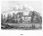 Doorn Schoonoord - litho PJ Lutgers, 1869 - GEZ2