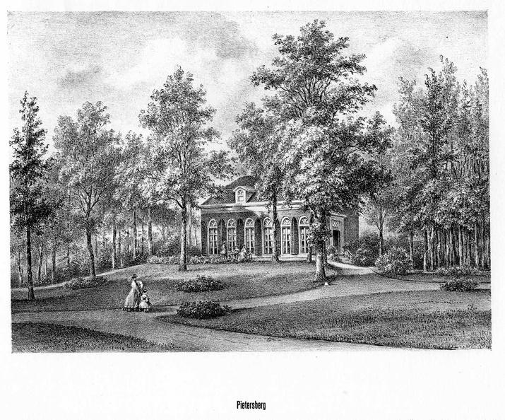 Driebergen Beukenstein - litho PJ Lutgers, 1869 - GEZ2