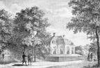 Driebergen Bijdorp - steendruk - omstreeks 1829 - DR1