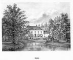 Driebergen Dennenburg - litho PJ Lutgers, 1869 - GEZ2