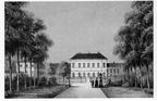 Katwijk Zand - lithografie 1850 - DE5