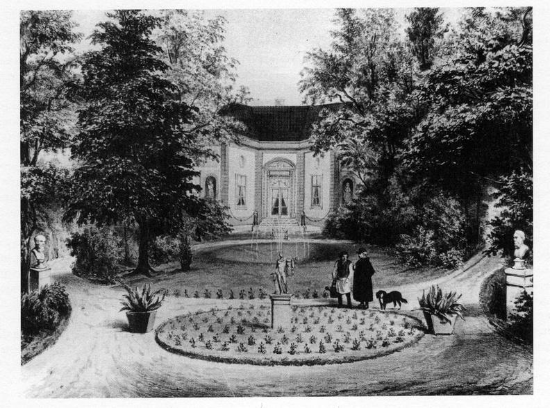 Leiden Vreewijk - lihografie T Hooiberg, 1851 - DE5