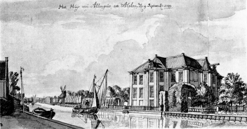 AlphenadRijn Brittenrust - J de Beyer, 1749, ZH1