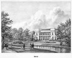 DenHaag Boschlust - gravure P.J.Lutgers, ca 1856 - GEZ1