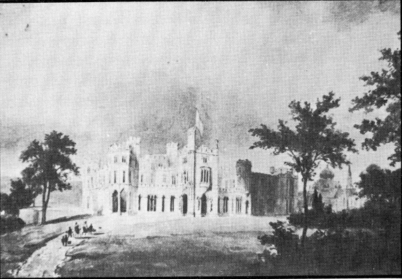 DenHaag Sorghvliet - ontwerp koninklijk paleis op het terrein - ontwerp H Ashton - HU1