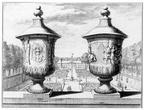DenHaag Zorgvliet - gravure door J van de Aveelen, 1690 - BU3