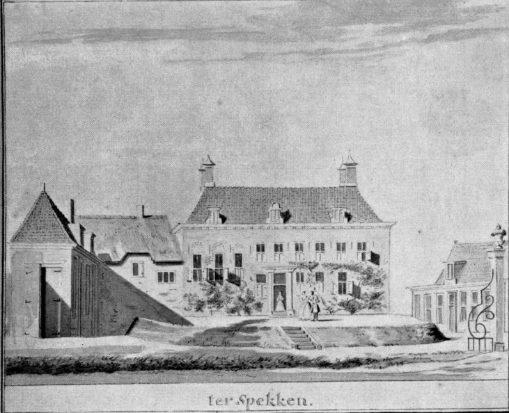 Ter Spekken - anoniem, ca 1730, ZH1
