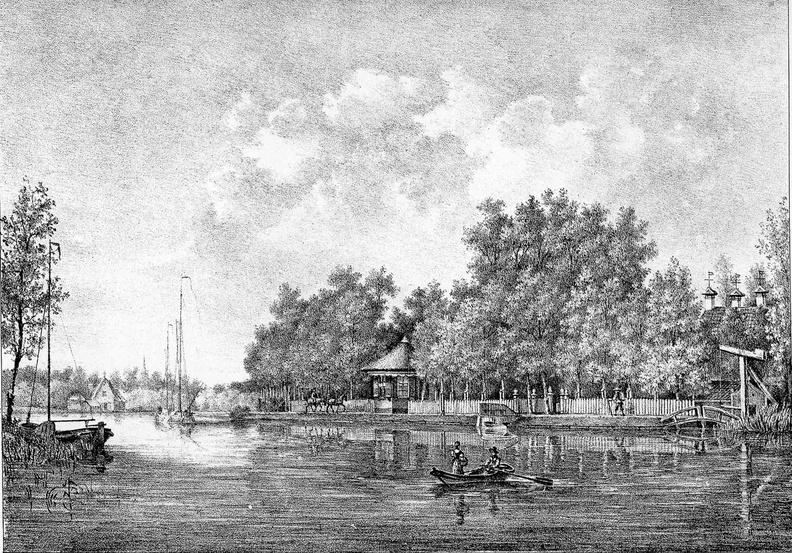 Gravure van PJ Lutgers ca 1836