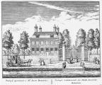 Baambrugge Postwijck - ets Abraham Rademaker, 1730 - HOL1