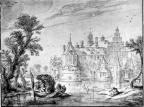 Groot Poelgeest - navolger van Es. van de Velde, ca 1625, ZH1