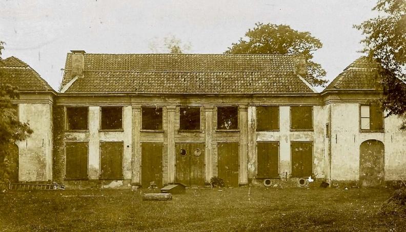 Voor de afbraak in 1907