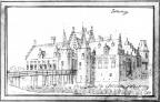 Toutenburg - pentekening A. de Haen